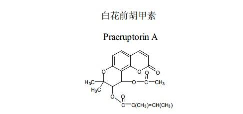 学对照品分子结构图